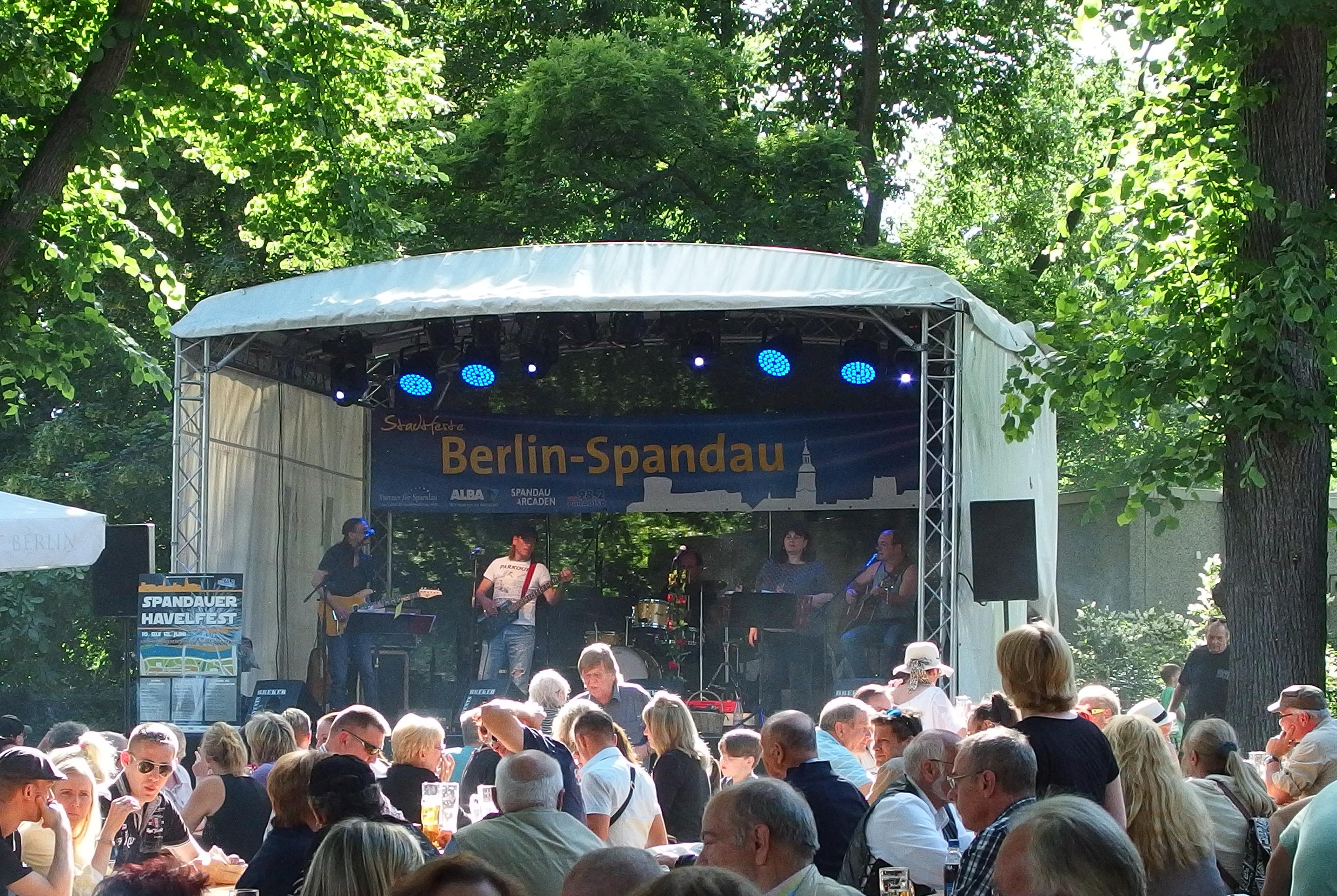 Spandauer Havelfest im Sommer